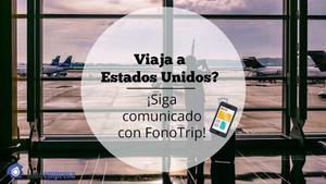 Viajás A Usa? Fonotrip Es Tu Chip Celular!!!!!