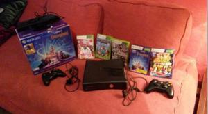 Xbox 360 con todos sus accesorios.(precio accesible)