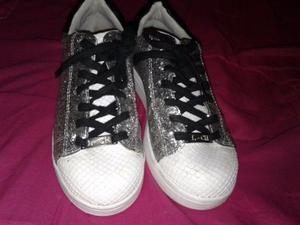 Zapatillas Con Glitter Luna Chiara