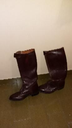 vendo botas de cuero nuevas!!!
