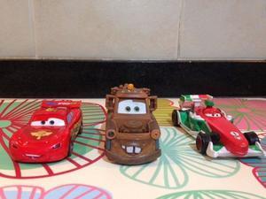3 Autos Cars Con Sonido Disney Store