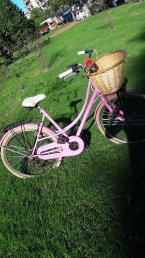 Bicicleta Vintage Mujer Rodado 26 Muy Poco Uso 6 Cambios