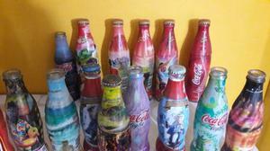 Botellas De Coco Cola Colección