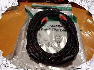 Cable HDMI - HDMI 5 metros mayado
