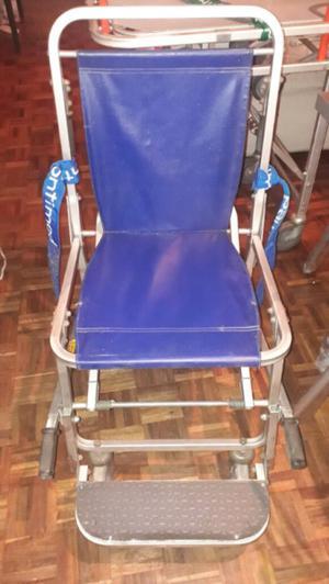 Camilla y silla de rueda para ambulancia