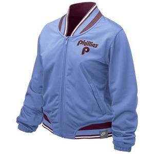 Campera Mujer Baseball Mlb Philadelphia Phillies - Importada