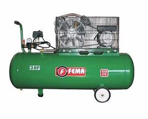 Compresor a correa 180 lts 3 hp