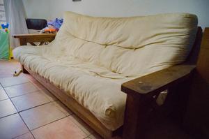 Excelente futón de 3 cuerpos de madera!!!