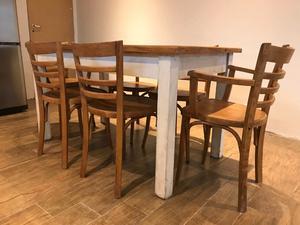 Juego de living mesa y sillas posot class for Juego de mesa y sillas
