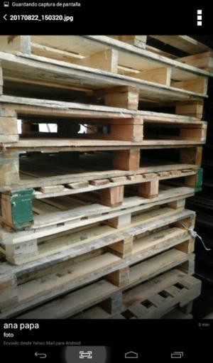 Pallets de madera usados, buen estado