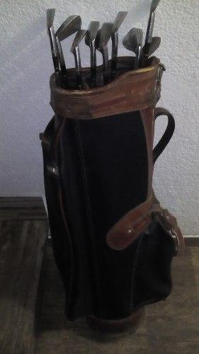 Palos De Golf Wilson Set Completo,bolso Y Carrito,