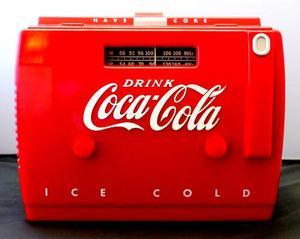 Radio (retro) Coca Cola Am, Fm Y Pasacasete. Estilo  !!!