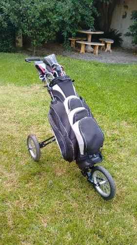 Set De Golf Completo Con Bolsa Y Carro
