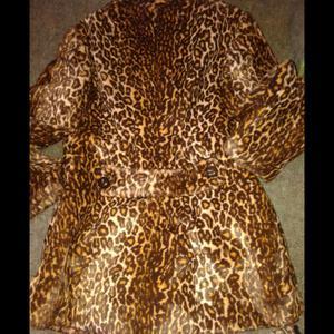 Tapado Leopardo Estilo Retro