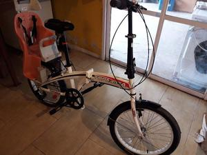 Vendo Bici de paseo plegable