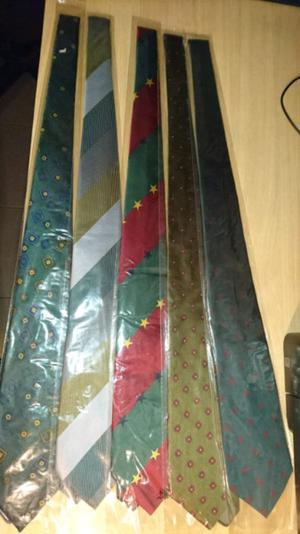 Vendo corbatas por mayor excelente calidad nuevas