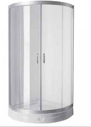 Box cabina de ducha curvo x vidrio templado posot class - Cabina de ducha ...