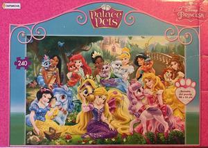 2 Rompecabezas Princesas de 70 y 240 piezas.