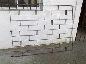 2 rejas de hierro para ventana a $