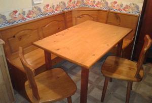 esquinero con mesa para cocina posot class On banco esquinero con mesa
