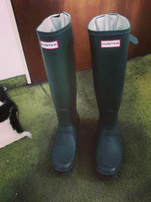 Botas hunter de lluvia!