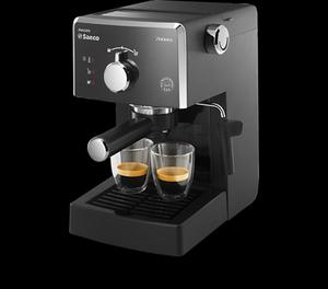 Cafetera Philips Saeco Negro Hd