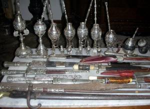 Compro Plateria Criolla Antigua: Cuchillos facones Mates