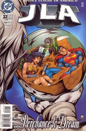 Justice Legue Of América Nº 22, Dc Comics, En Inglés.