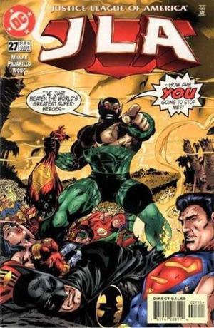 Justice Legue Of América Nº 27, Dc Comics, En Inglés.