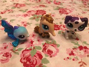 Littlest pet shop originales usados con brillos