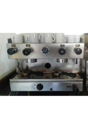 Maquina de cafe express de 2 bocas