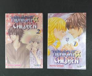 Midnight children Manga 1 y 2
