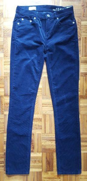 Pantalón de corderoy azul Gap nuevo!