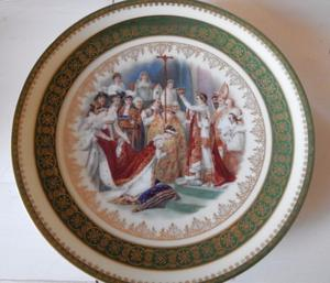 Plato decorativo Epiag Royal Czechoslovakia