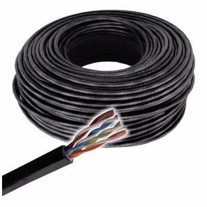 Rollo Cable Utp Exterior Catmts Seguridad Balun Camaras