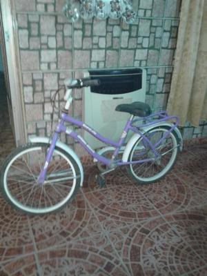 Vendo bicicleta para nena rodado 20