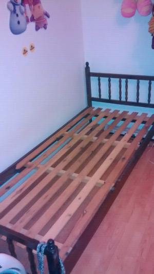 Vendo cama 1 plaza antigua