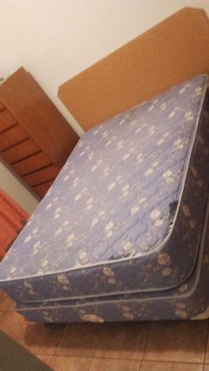 Vendo cama dos plazas