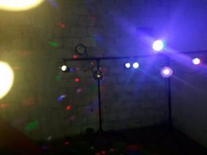 alquiler de luces colores y pantalla