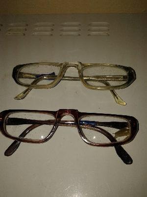 armazones de lentes para leer cada uno $200 usado