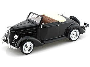 Auto A Escala Ford Coupe Deluxe Cabriolet  Welly