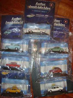 Autos Coleccion A Escala Argentinos Inolvidables Salvat