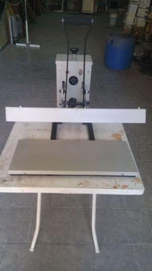 Estampadora Doble de remeras Margraf nueva, sin uso