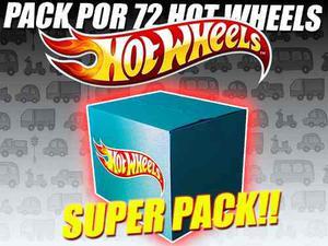Hot Wheels Super Pack X 72 Autitos - Matilda Regalos