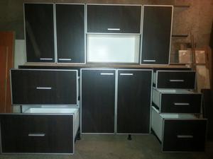 Mueble de cocina, bajo mesada y alacena