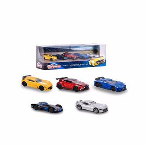 Set De Autitos Majorette Vision Gran Turismo Ploppy