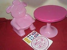 silla y mesa RONDI---poco USO