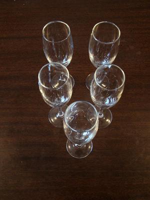 5 Copas para Champagne