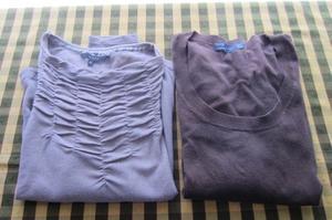 Dos sweaters para mujer, mara Kill!! y marca Zara!!