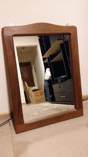 Espejo marco de algarrobo